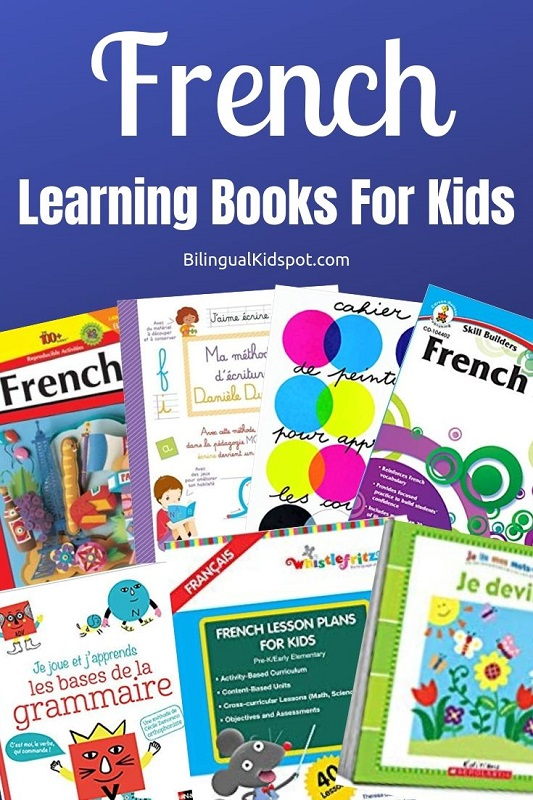 Teach Kids French - Language Learning Books