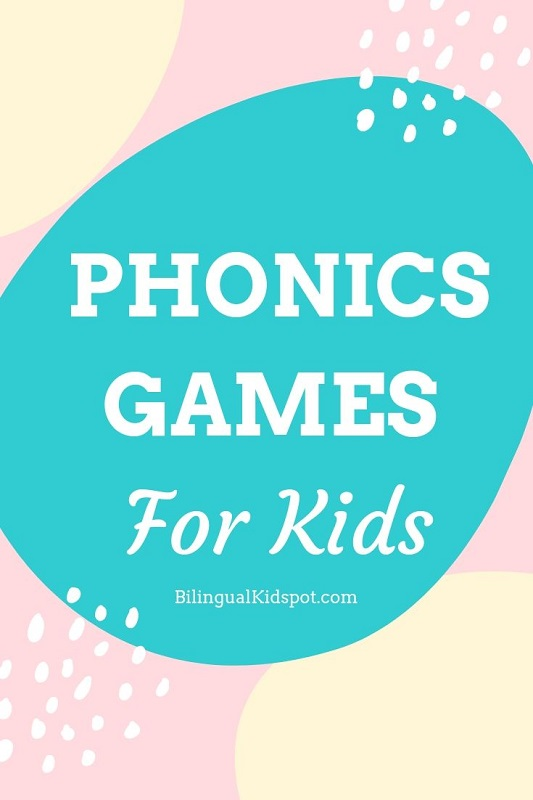 English Phonics games for kids to read