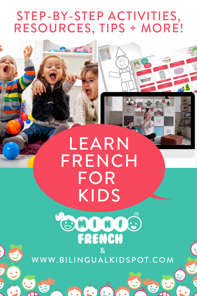 Learn French For Kids with free online lessons