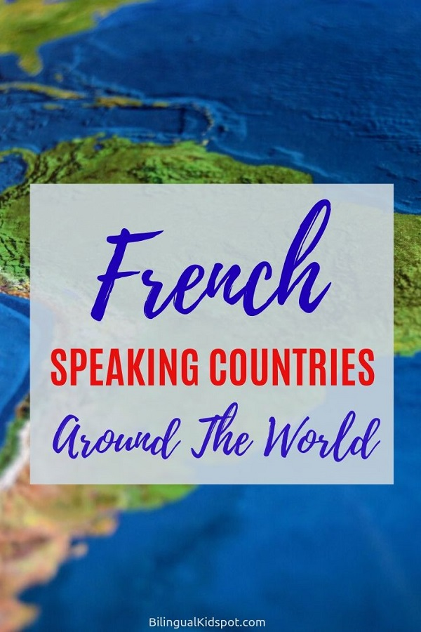 French Speaking Countries in Africa, Europe, and the world