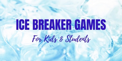 Ice breaker games and activities for kids