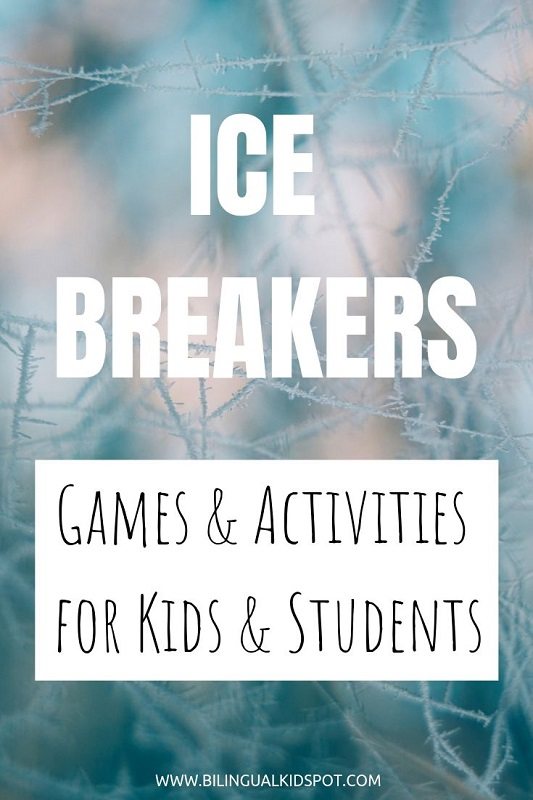 Ice breaker games for kids and students