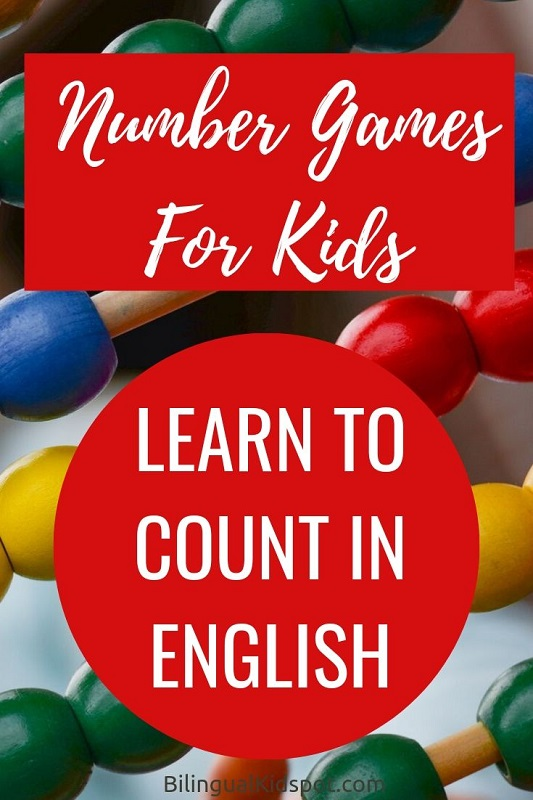 Learn to Count in English (Number Games)