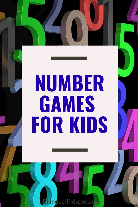 Number Games for Kids in English