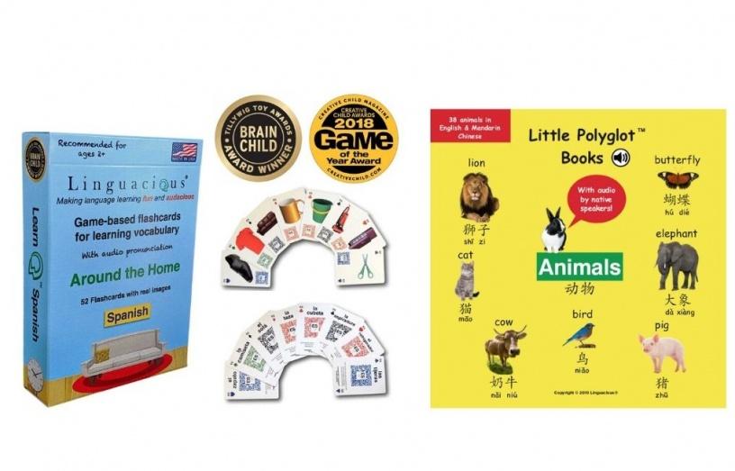 Linguacious Multilingual Flashcards
