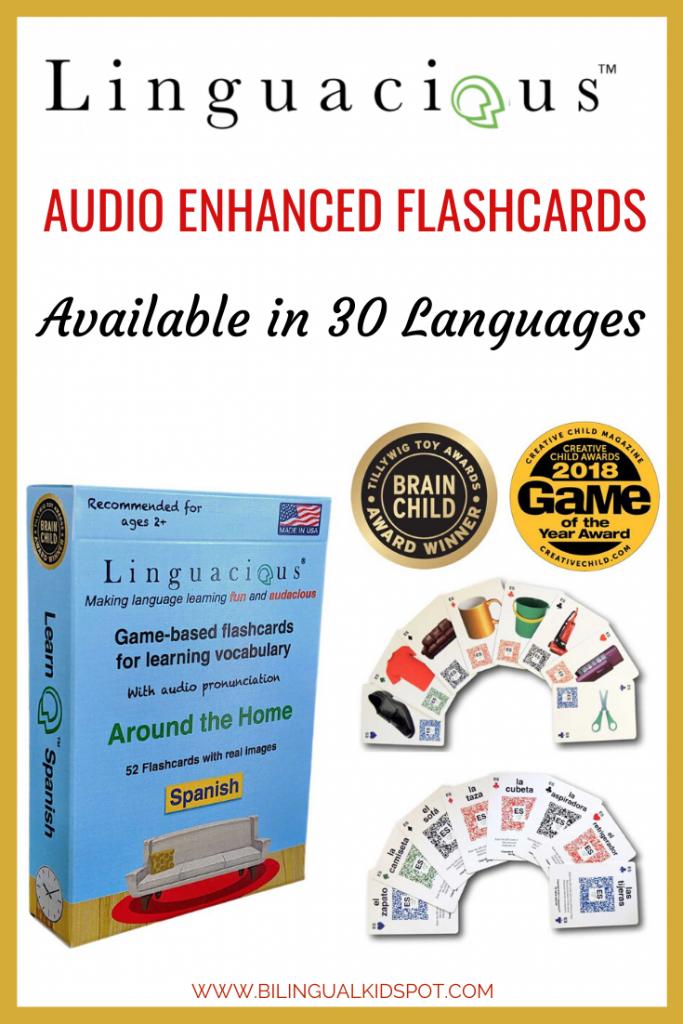 Linguacious Multilingual Flashcards Review