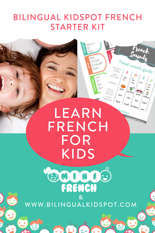 Teach Kids French - Starter Kit
