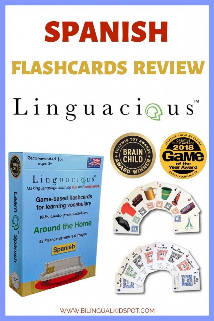 Spanish Flashcards Review - Linguacious