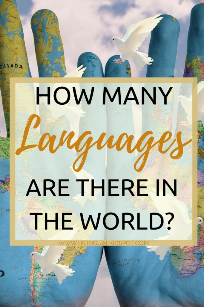 How many languages are spoken in the world