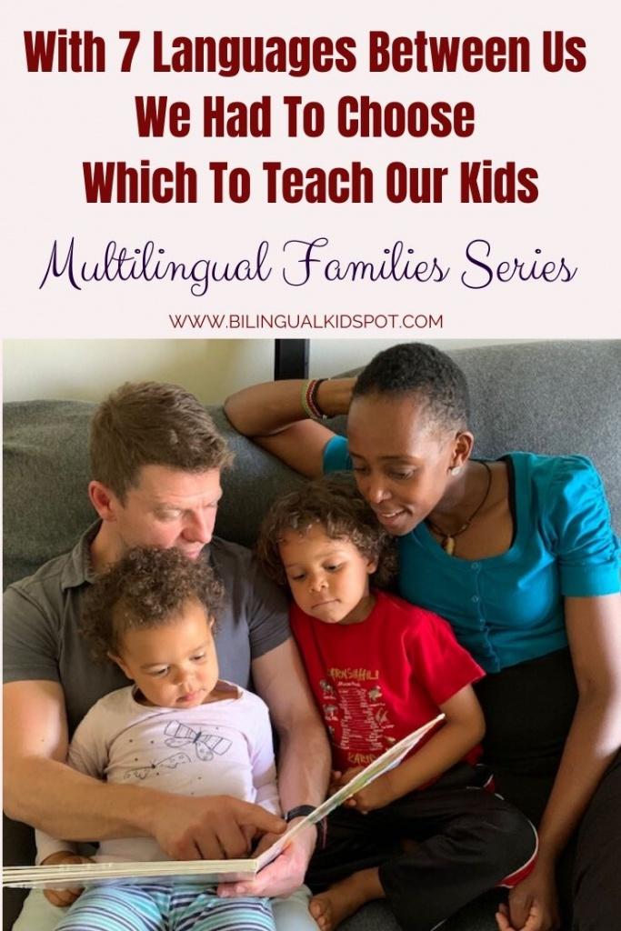 Multilingual Families - We speak 7 languages