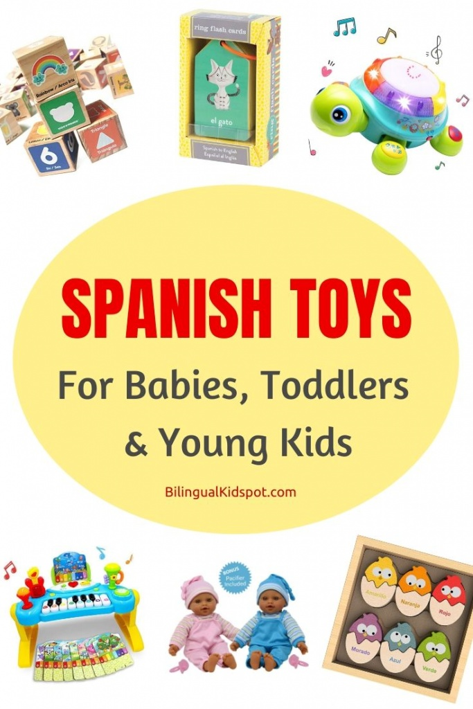 Best Spanish Toys for Toddlers Babies, and Young Kids