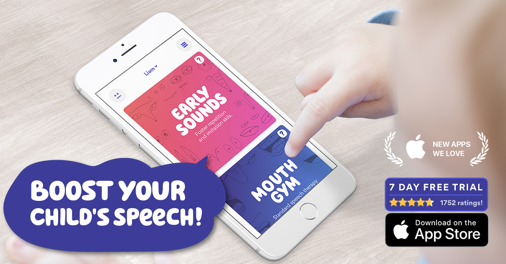 Boost Child's Speech App