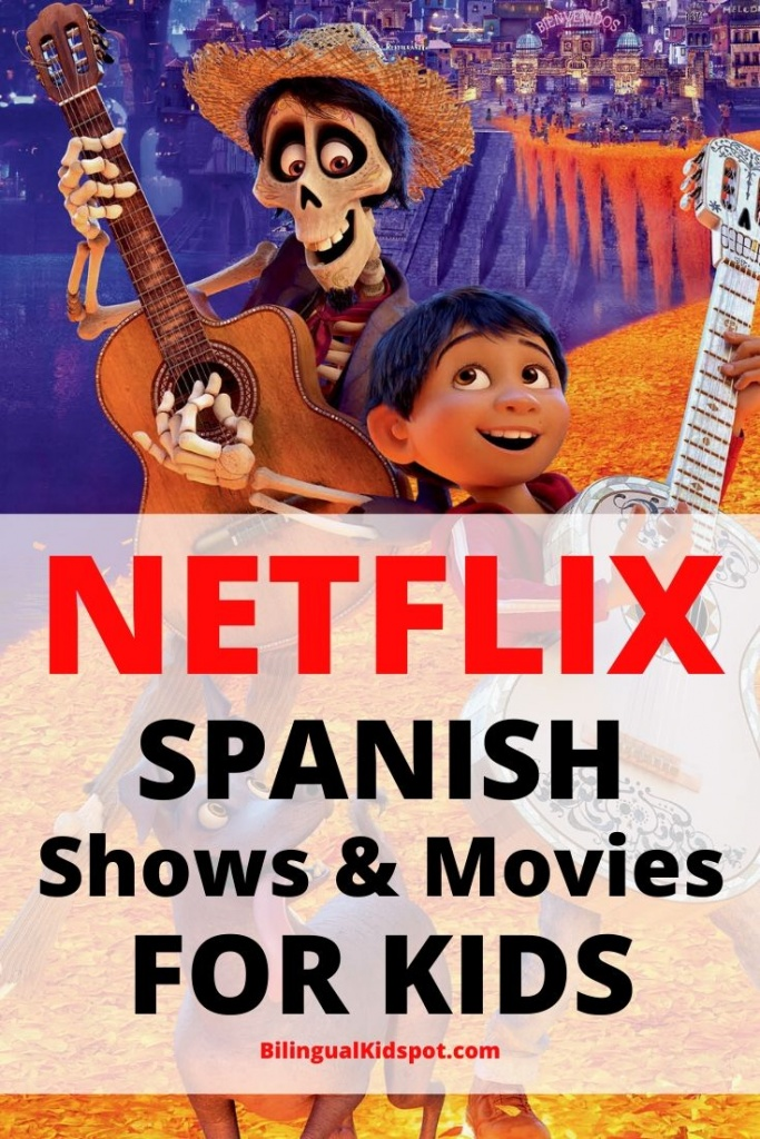 Spanish Shows on Netflix for Kids