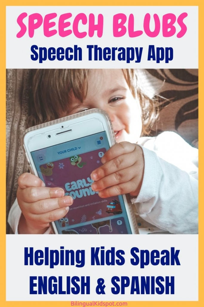 Speech Blubs Speech Therapy App in English & Spanish
