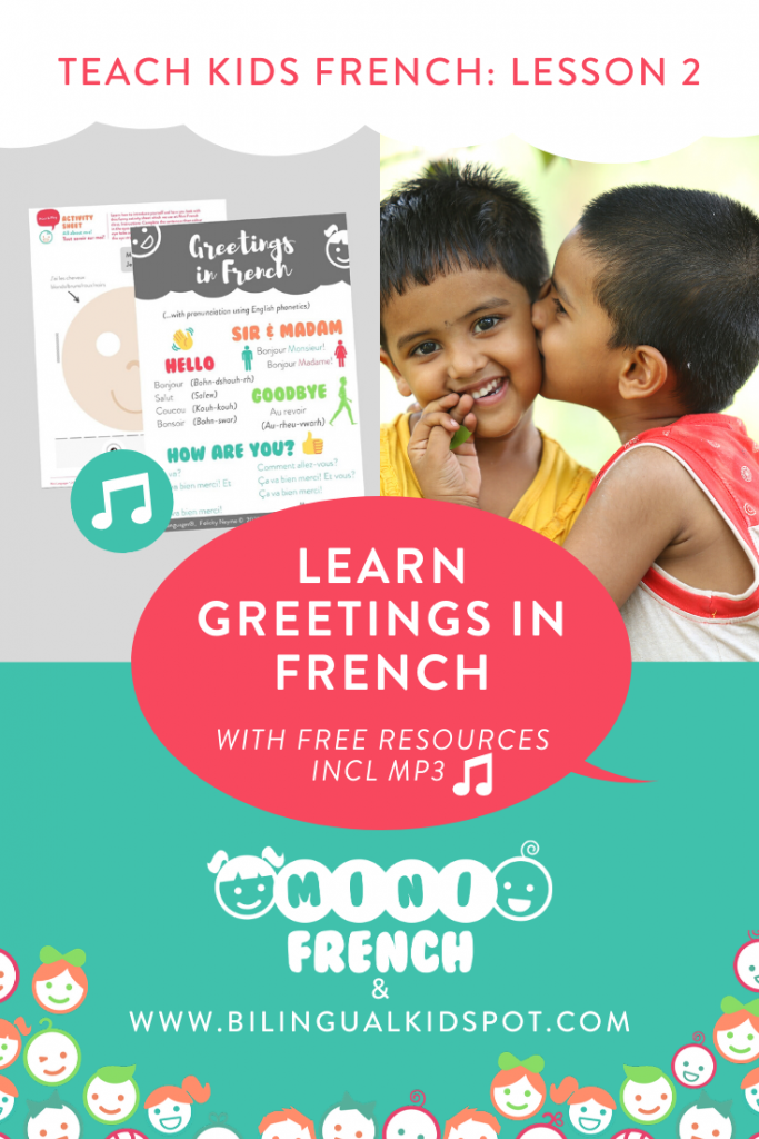 French for Kids - Greetings and Introductions in French