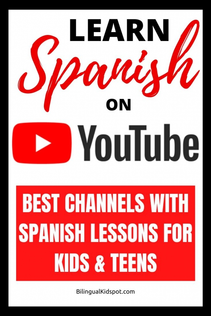 Learn Spanish On Youtube for Kids