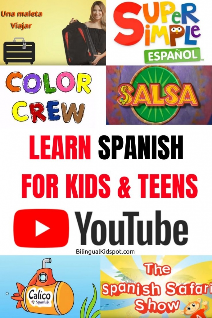 Spanish Youtube Channels for Kids with Lessons