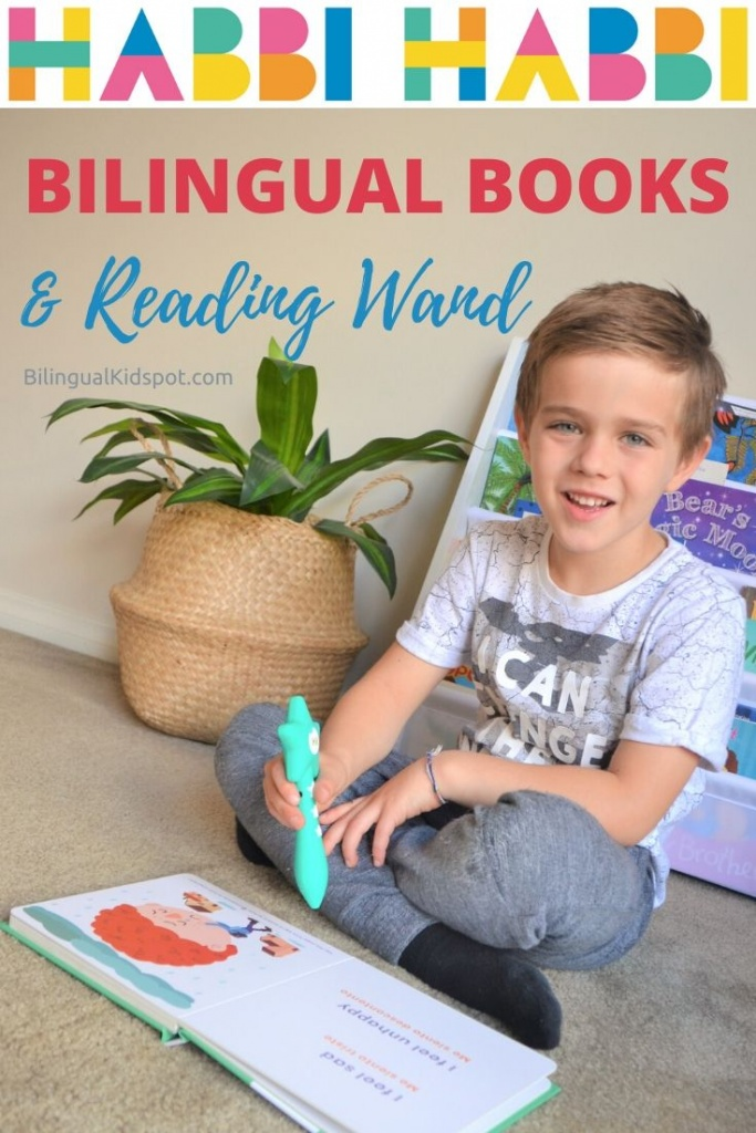 Bilingual Books for Kids with Reading Wand