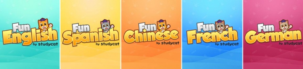 Fun Series Language Apps Studycat