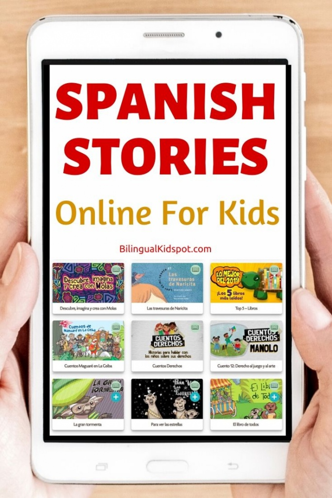 Short Spanish Stories Online FREE for Kids