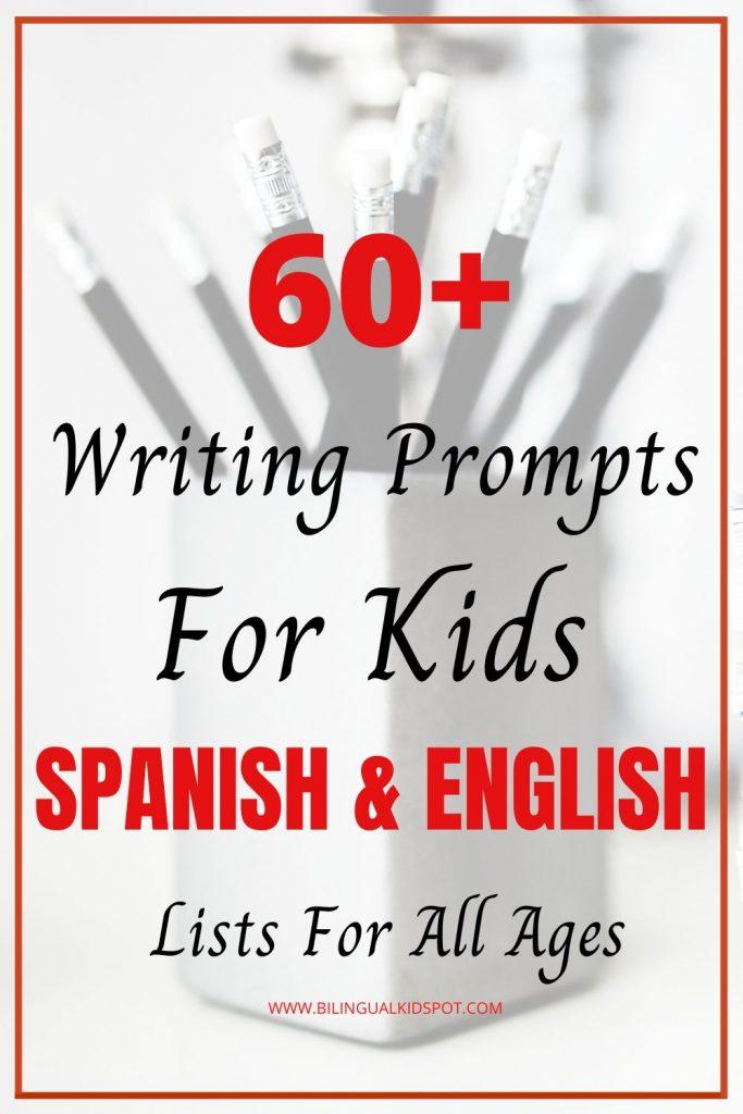 Creative Writing Prompts Spanish English