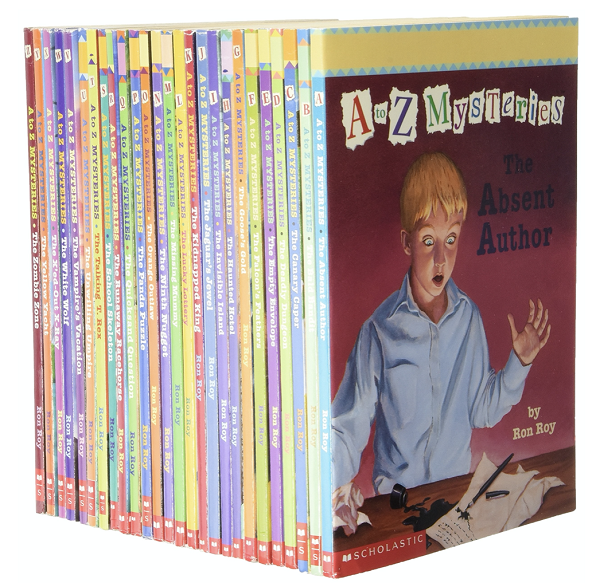 A-Z Mysteries Book Set for Early Readers