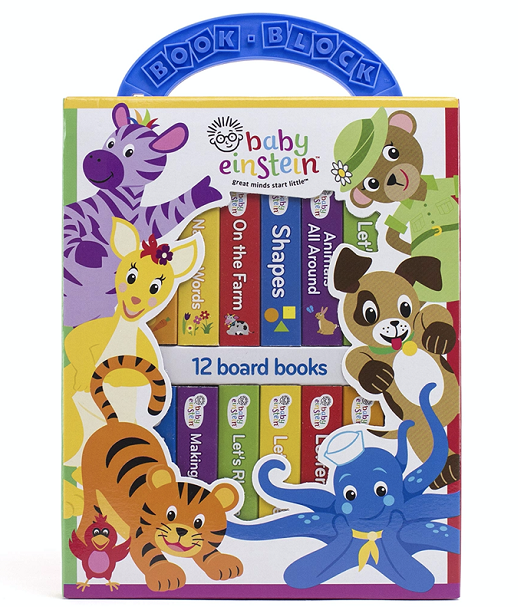 Baby Einstein Book Set for Toddlers