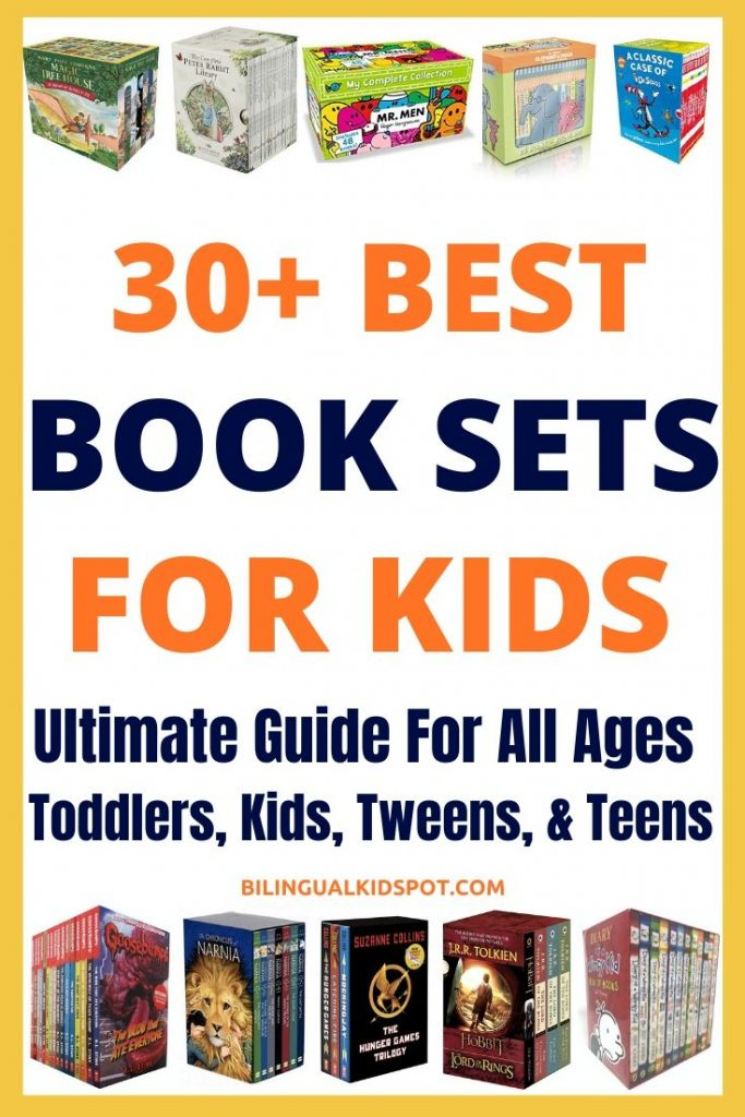 Best Book Sets for Kids (Guide for all ages)