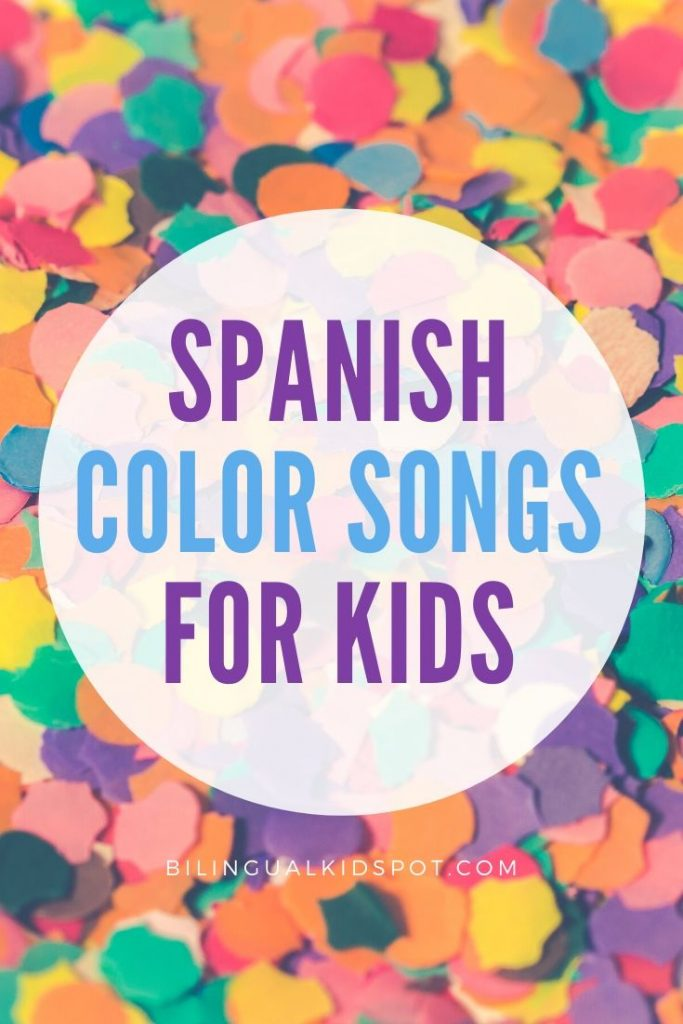 Color Songs in Spanish