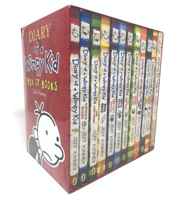 Diary of a Whimpy Kid Book Set for 6,7,8 year olds
