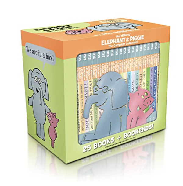 Elephant and Piggy Book Set for Kids