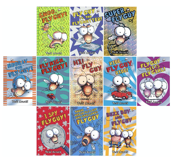 Fly Guy Book Set for Kids