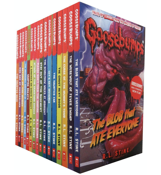 Goosebumps Book Collection for 7, 8, 9, 10, years old