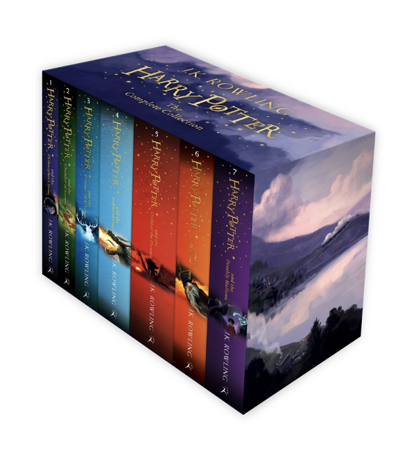 Harry Potter Book Set for Kids and Teens