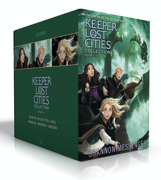 Keepr of the Lost Cities Book Collection for Kids
