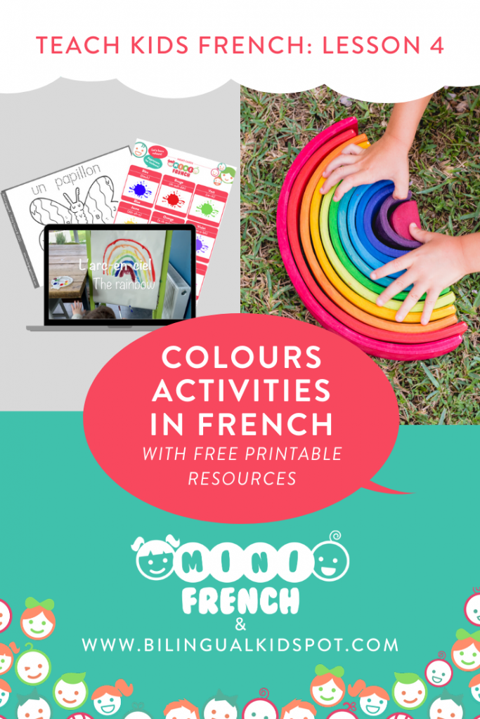 French for Kids Lesson 4: Learn Colours in French
