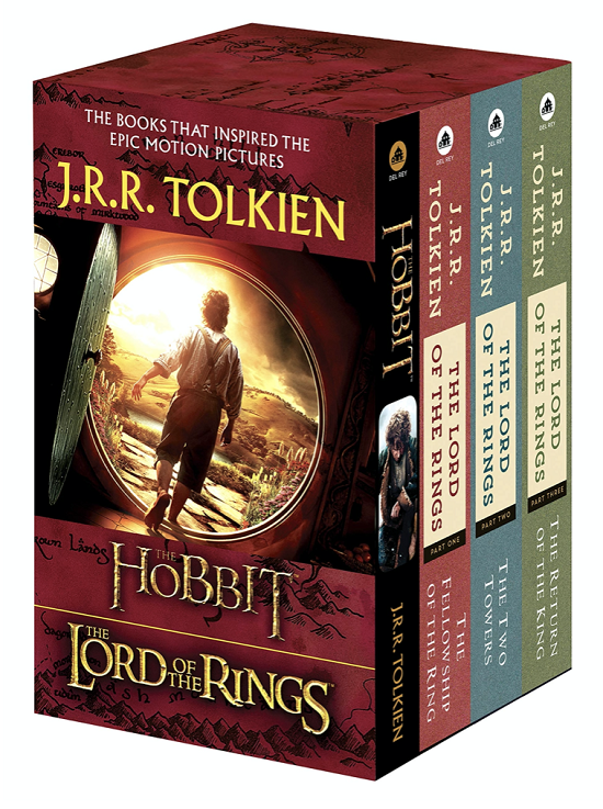 Lord of the Rings Book Set for Kids