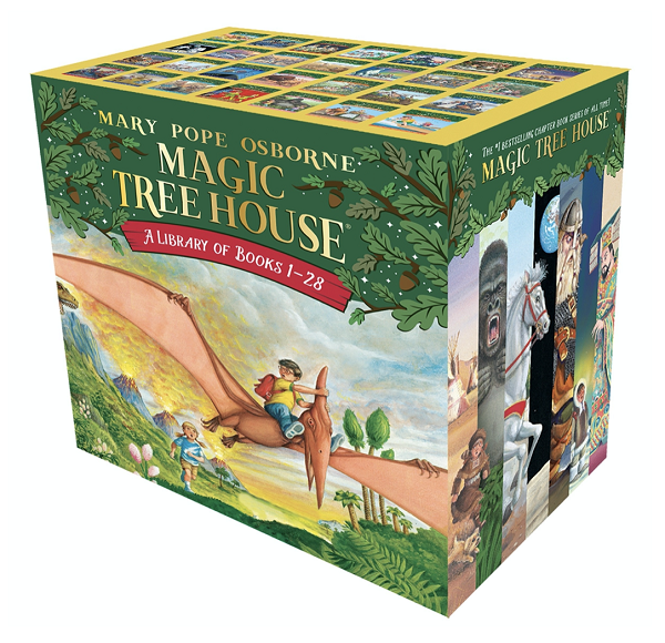 Magic Treehouse Box Set for Kids 7-9 years old