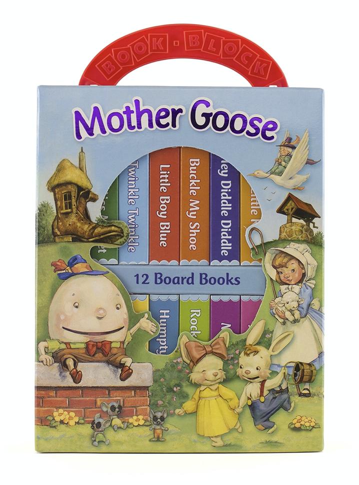 Mother Goose Book Set for Kids