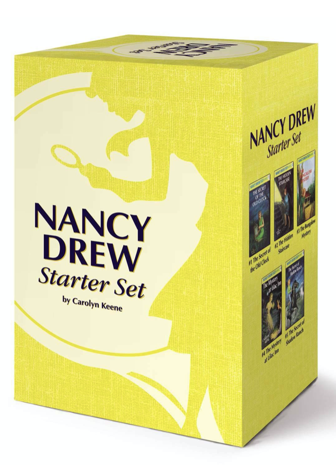 Nancy Drew Book Set for Kids (Best Novels)