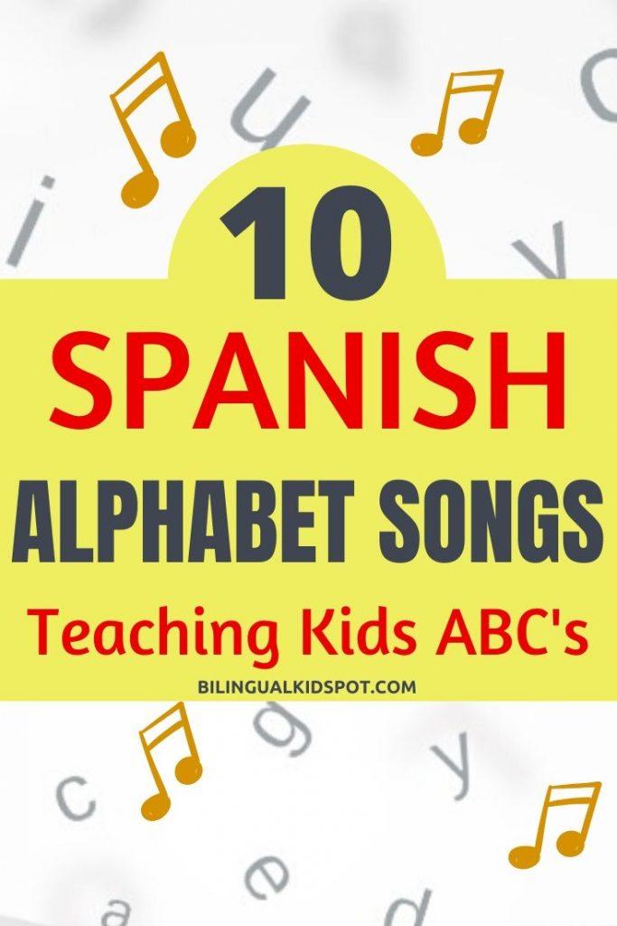spanish alphabet songs