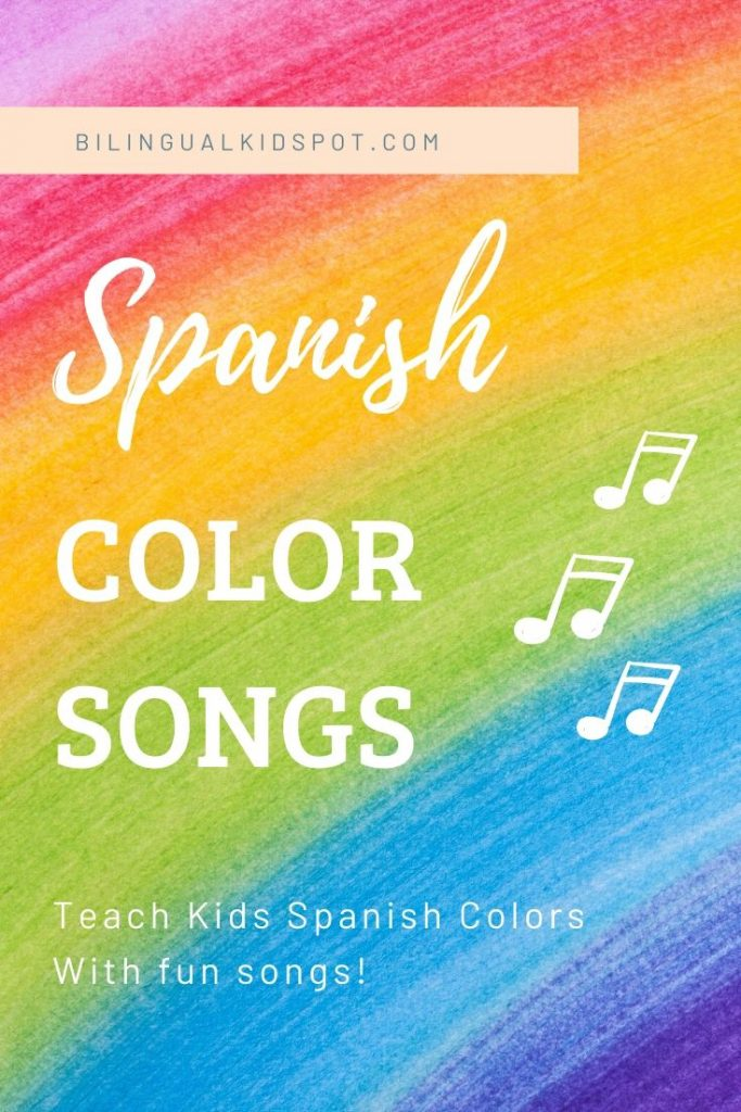 Spanish Color Songs