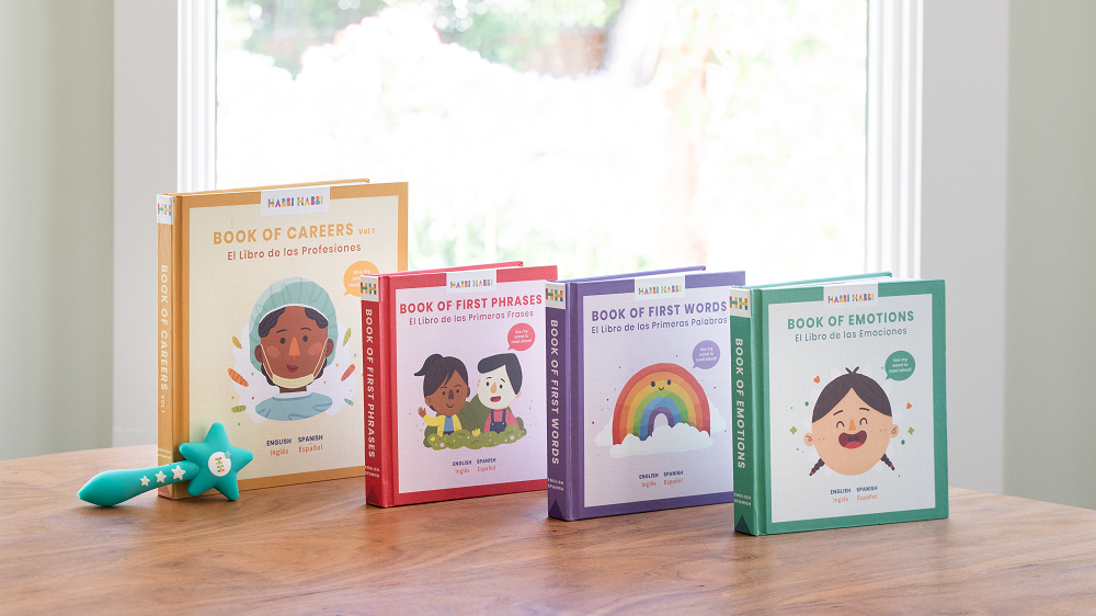 Bilingual Books Spanish and English