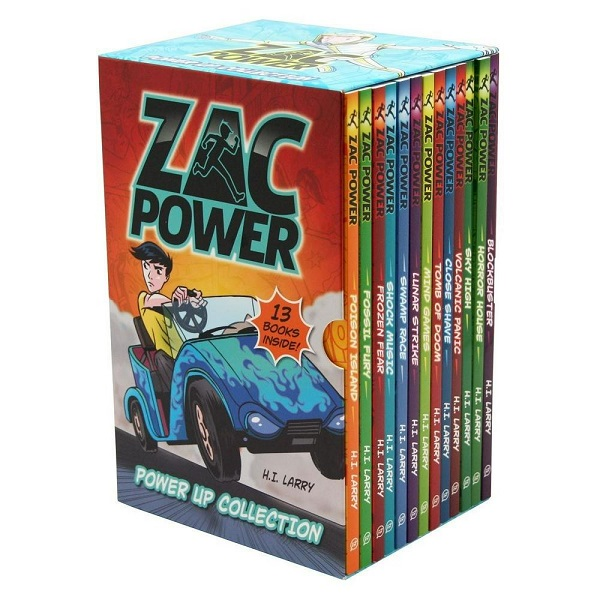 Zac Power Book Set for Young Readers