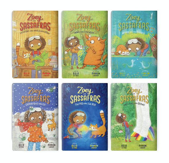 Zoey Sassafras book set for kids