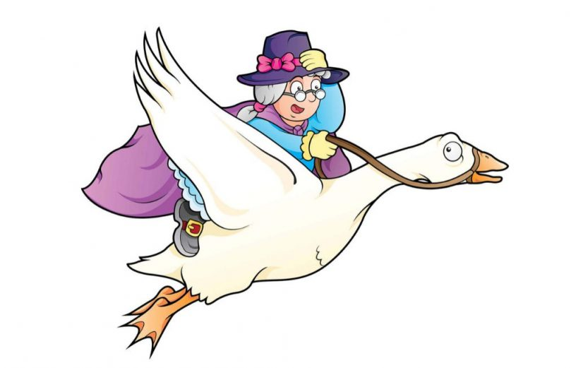 Mother Goose Nursery Rhyme Lyrics