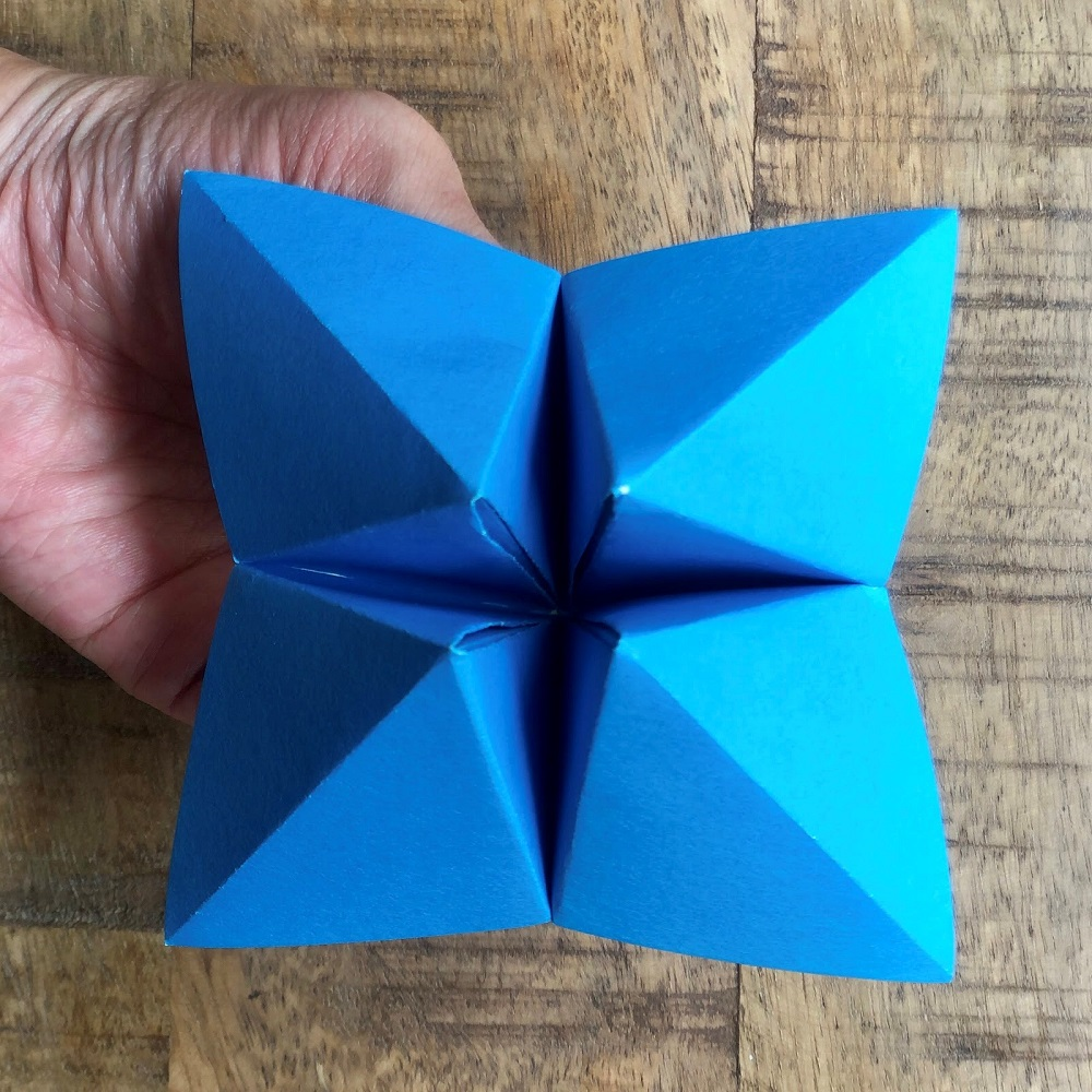 Paper Fortune Teller DIY Chinese Toy
