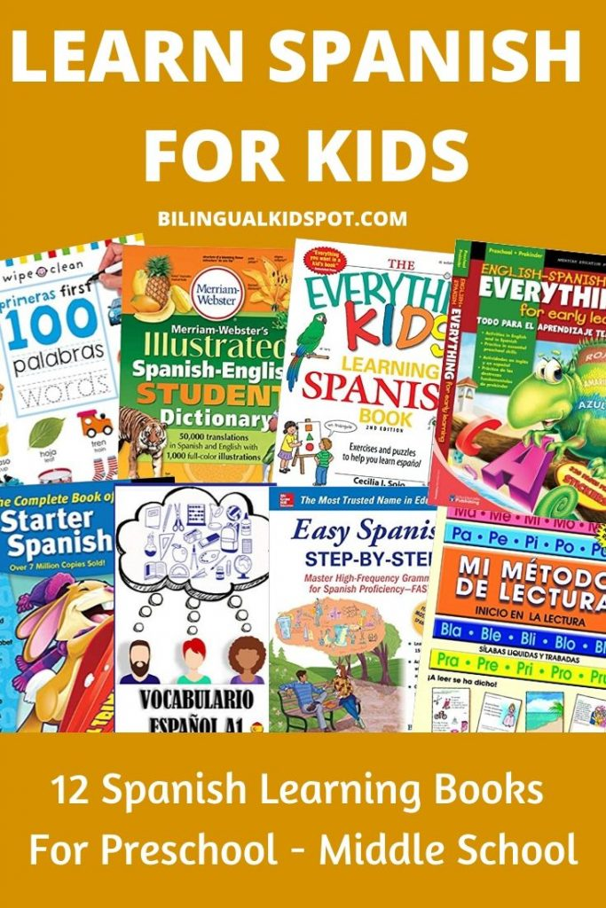 Spanish Learning Books for Kids
