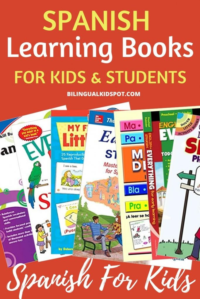 Spanish Learning Books for Kids and Students