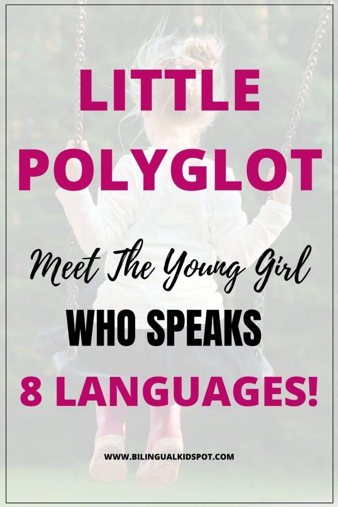Bella Devyatkina speaks 8 languages